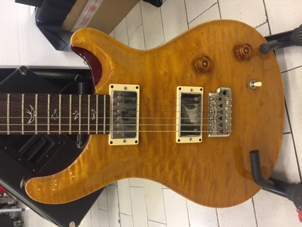 Paul Reed Smith - [PRS] Custom 22 Birds Quilted TR3 Vintage Yellow