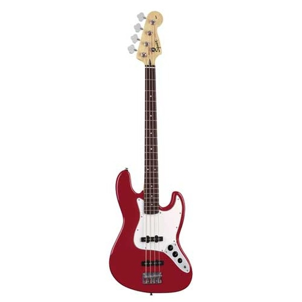 Fender - Squier Affinity - [0310760925] Jazz Bass Metallic Red Rosewood