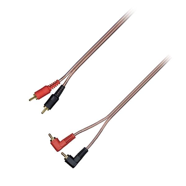 Thender - Cavo 2x RCA M > 2x RCA M 90° 4mt [53-424AR]