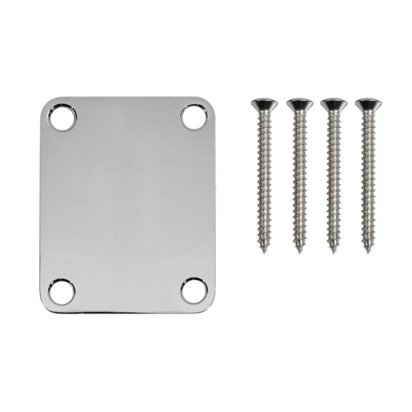 Fender - Neck Plate, Plain, 4 Bolts