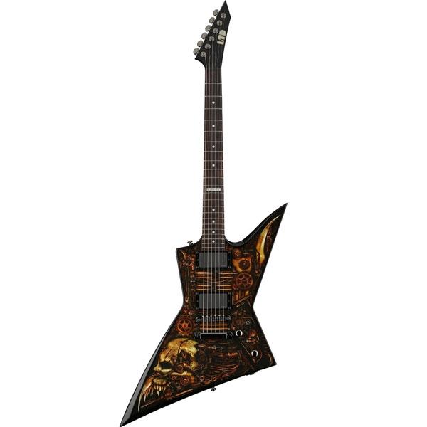 ESP - LTD Graphic - [EX-CZ] Chitarra elettrica Clockwork Zombie Rosewood - Limited Edition