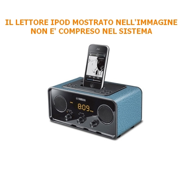 Yamaha - [TSX-70] Sistema Audio Desktop - Dark Blue