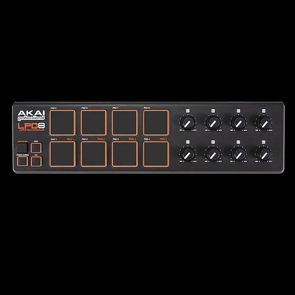 Akai - LPD8 Laptop Pad Controller