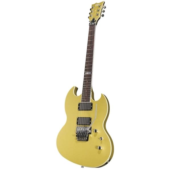 ESP - Signature - TM-600 Chitarra elettrica Travis Miguel Metallic Gold Satin