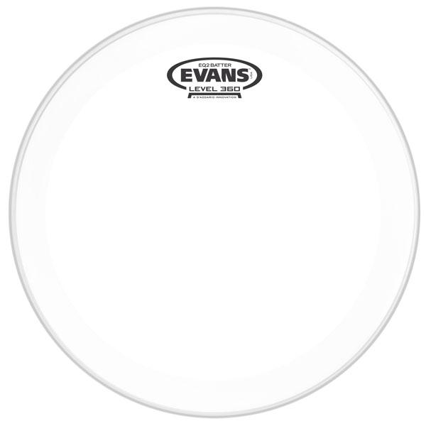 """Evans - EQ2 Clear - BD20GB2 20"""" EQ2 Clear Pelle per Cassa"""
