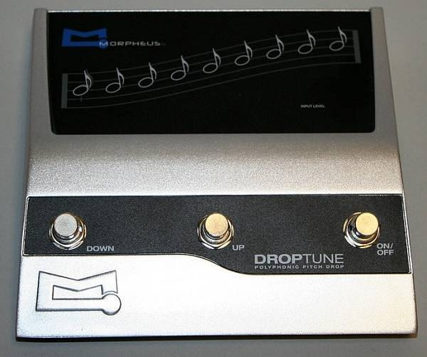 Reference - MORPHEUS DROP TUNE PEDAL
