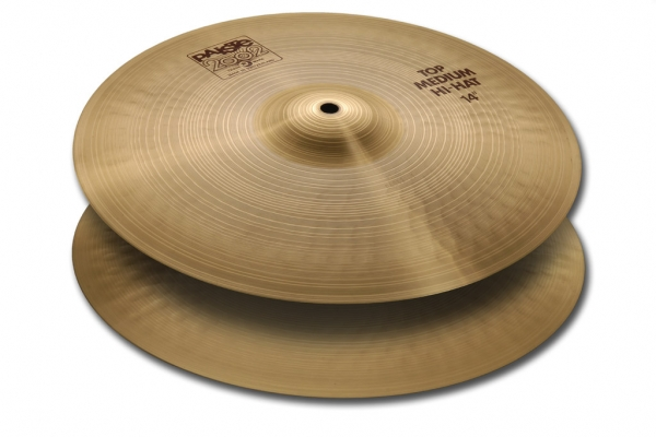 Paiste - 2002 - Medium Hi-Hat 14""