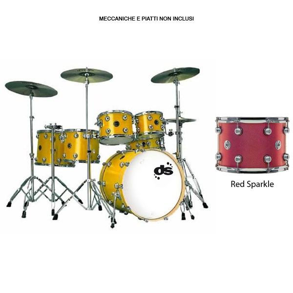 Drum Sound - Evolution Series - Red Sparkle