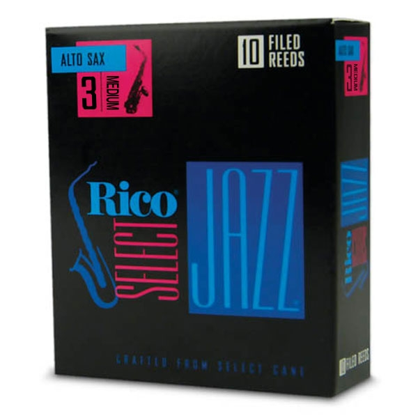 Rico - Select Jazz - RSF10ASX3M Filed Sax Alto 3m - 10un