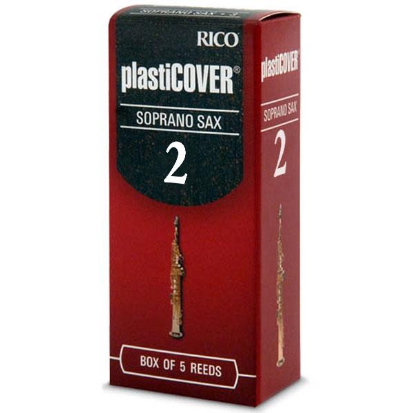 Rico - Plasticover - RRP05SSX200 Sax Soprano 2 - 5un