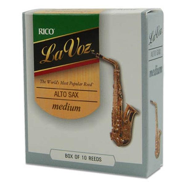 Rico - La Voz - RJC10MD Sax Alto medium - 10un