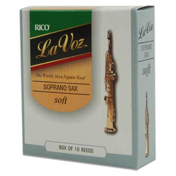 Rico - La Voz - RIC10SF Sax Soprano soft - 10un