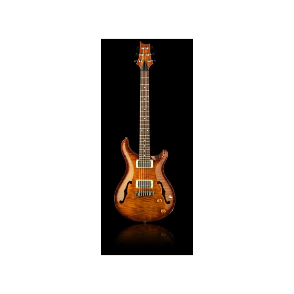 Paul Reed Smith - [PRS] Hollowbody II - Violin Amber Sunburst - Birds inlays