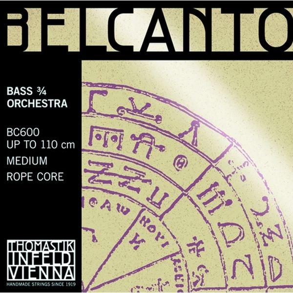 Thomastik - Belcanto - [BC 600] Muta Contrabbasso  Orchestra  3/4