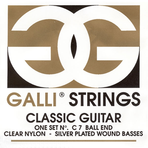 Gallistrings - Ball End - [C7] Muta corde chitarra calssica ball end .028-.044
