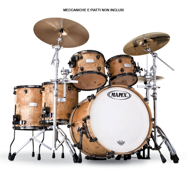 Mapex - Orion - TM628SBPHXN Mapa Burl - Exotic Veneer - Limited Edition