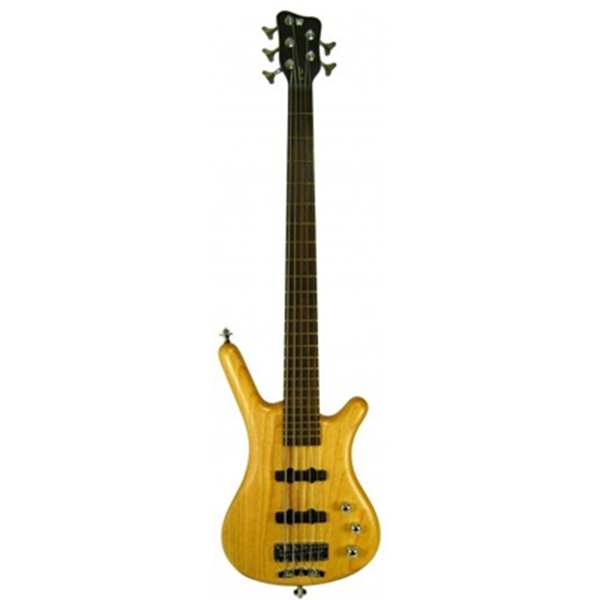 Warwick - Corvette $$ NT Honey Violin 5 Corde Mancino