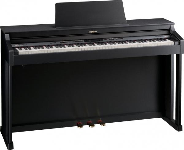 Roland - [HP302SBA] Piano Digitale Satin Black