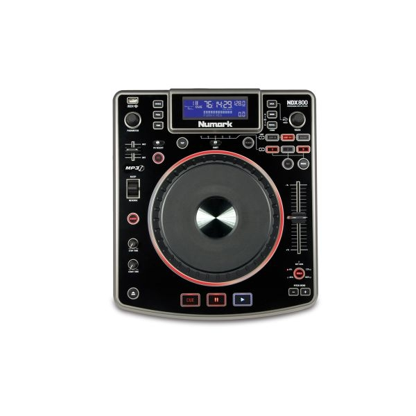Numark - [NDX800] Lettore player MP3/CD/USB con scheda audio integrata e controller USB