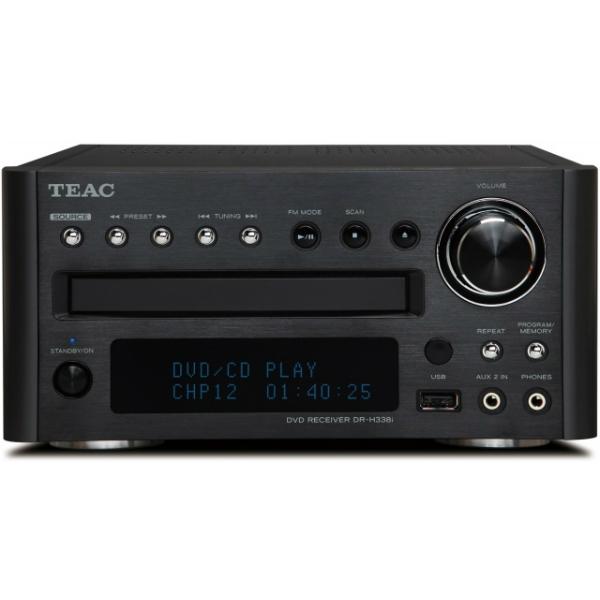 Teac - [DRH338I-B] Sintoamplificatore stereo 50 + 50 W