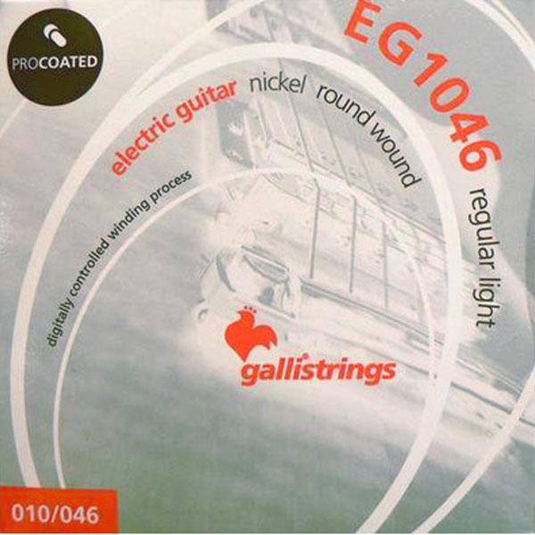 Gallistrings - Electric Guitar ProCoated - [EG1046] Muta corde chitarra elettrica regular light .010-.046