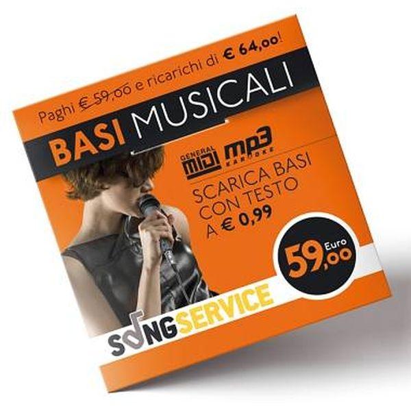M-Live - M-LIVE Carta Prepagata da 64,00 €