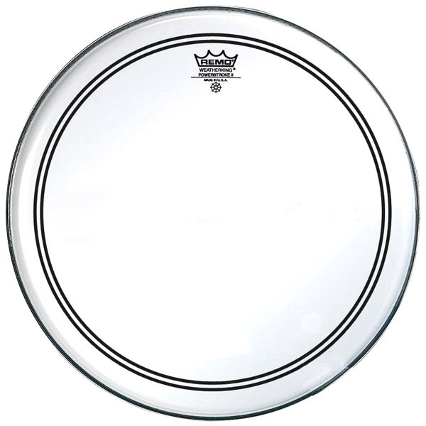 Remo - Powerstroke 3 - [P3-0318-BP] Pelle Rullante/Tom Clear 18""