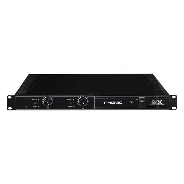 Phonic - [Max500] Amplificatore di potenza 2X120W