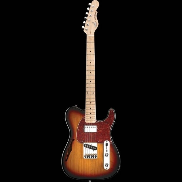 G&L - Tribute - ASAT Classic BluesBoy 3 Tone Sunburst