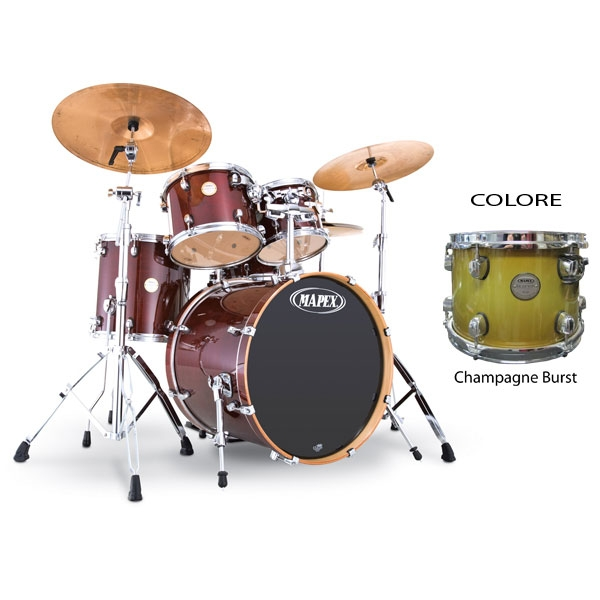 Mapex - Meridian Maple - MP6285MT Studioease - Champagne Burst