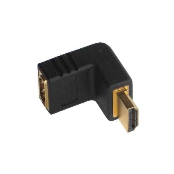 Thender - Adattatore 90° HDMI F > HDMI M [23-910]
