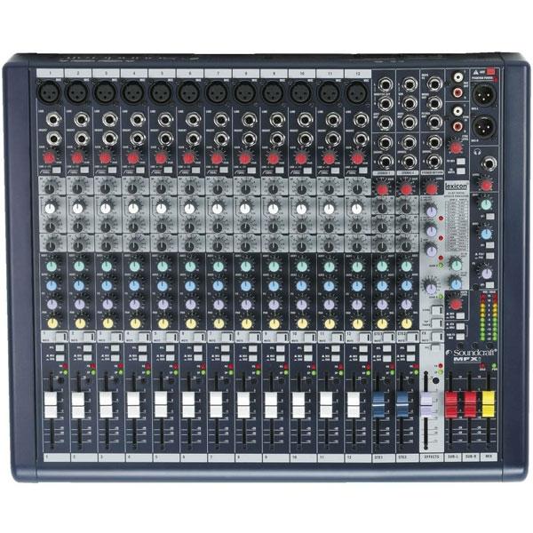 Soundcraft - Mfxi - [MFXi12] Mixer 16 canali con effetti