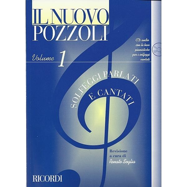 Ricordi - [ER2951] Il Nuovo Pozzoli: Solfeggi Parlati e Cantati Vol. 1 (9790041829517)