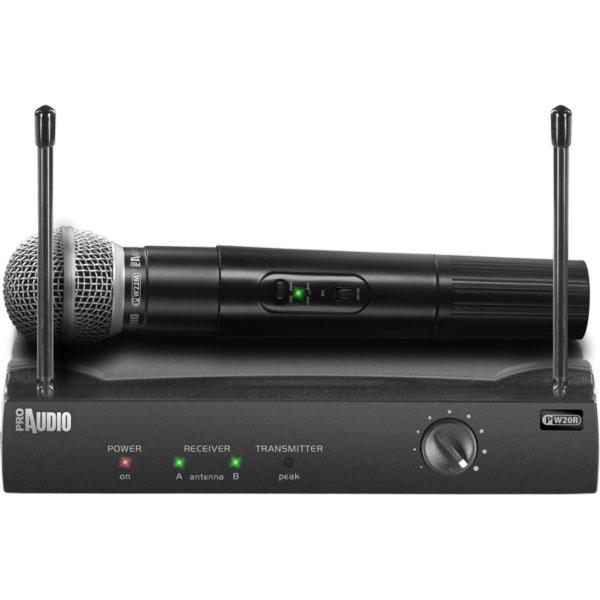 ProAudio - [PW210] Radiomicrofono a mano