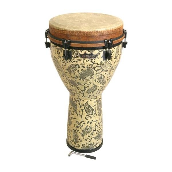"Remo - Key-Tuned Djembe 16"" Fossil"