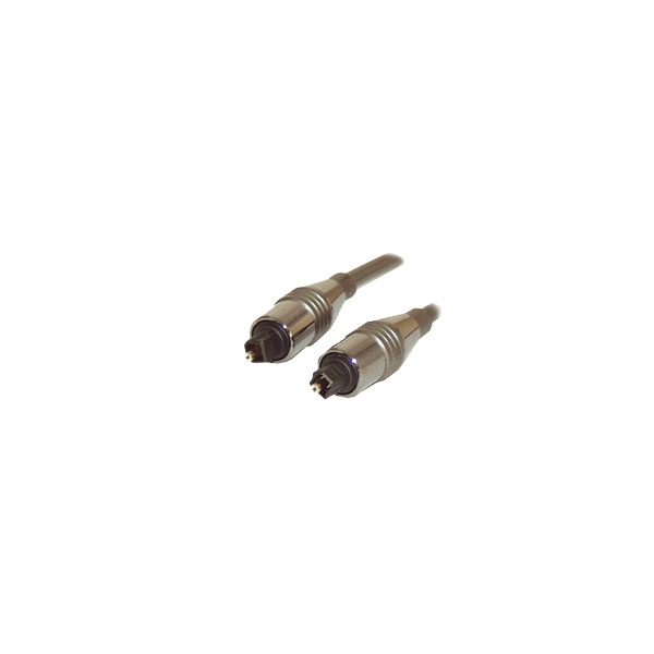 Alpha Elettronica - Cavo digitale fibra ottica Toslink maschio > Toslink maschio 5mt [91-015/05B]