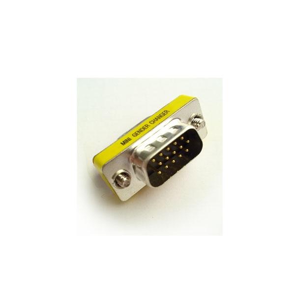 Alpha Elettronica - Adattatore VGA HD 15 poli maschio > femmina [64-034/1]