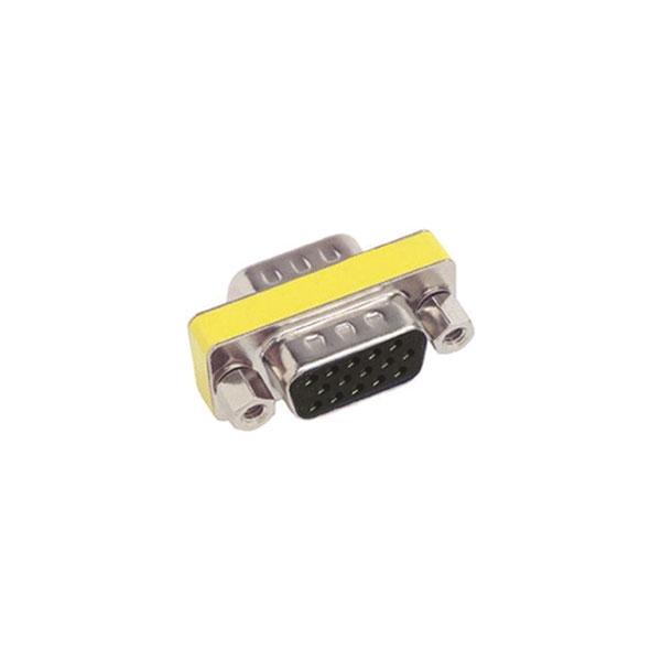 Alpha Elettronica - Adattatore VGA HD 15 poli femmina > femmina[64-034/2]