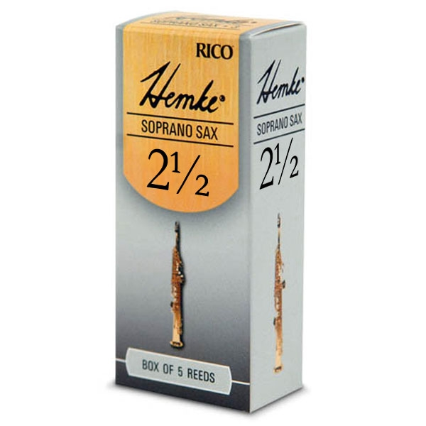 Rico - Hemke - RHKP5SSX250 Sax Soprano 2.5 - 5un