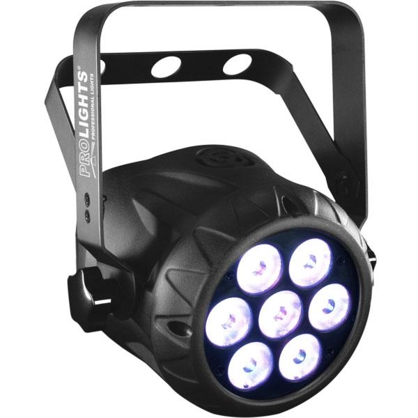 Prolights - [ARCLED1307TRI] Proiettore Led compatto 7x3W Tricolor