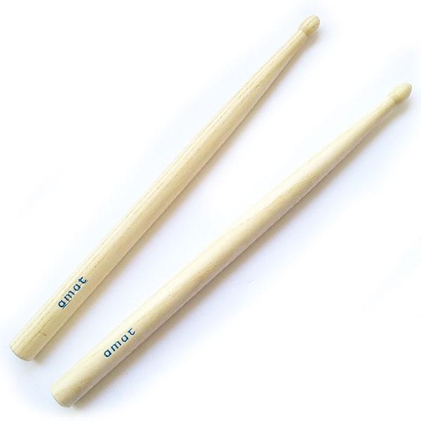 Amat - [73/G] Paio di bacchette per tamburo jazz