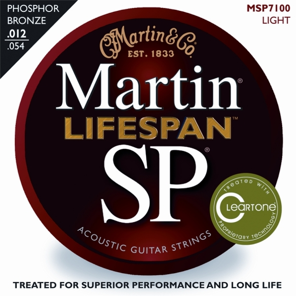 Martin - [MSP7100] LIFESPAN LIGHT - Muta corde x chit. acustica