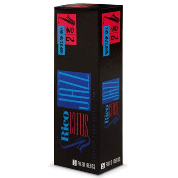 Rico - Select Jazz - RSF05BSX2H Sax Baritono Filed 2H - 5un