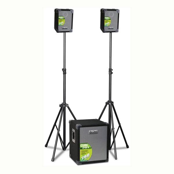 DJ-Tech - [CUBE 201] PA SYSTEM 2.1 280W