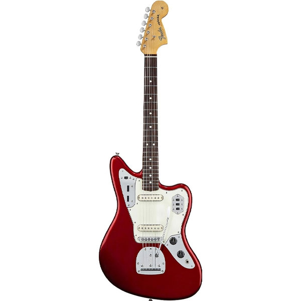 Fender - Mexican Classic Player - Jaguar Special Candy Apple Red Rosewood