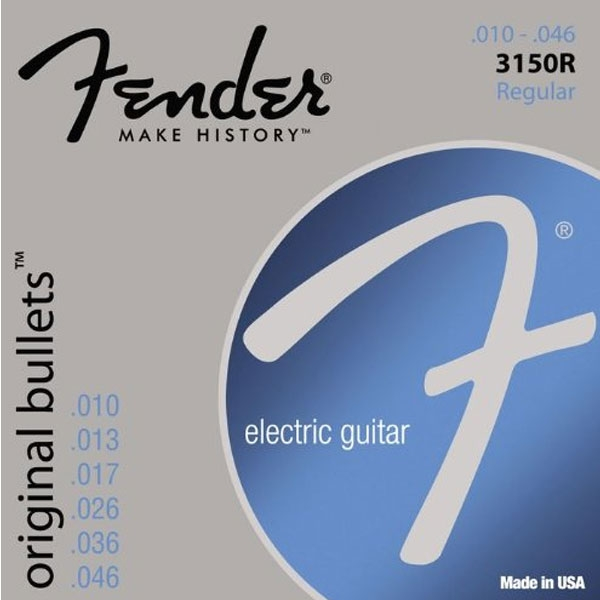 Fender - Original Bullet™ 3150R, Pure Nickel, Gauges .010-.046