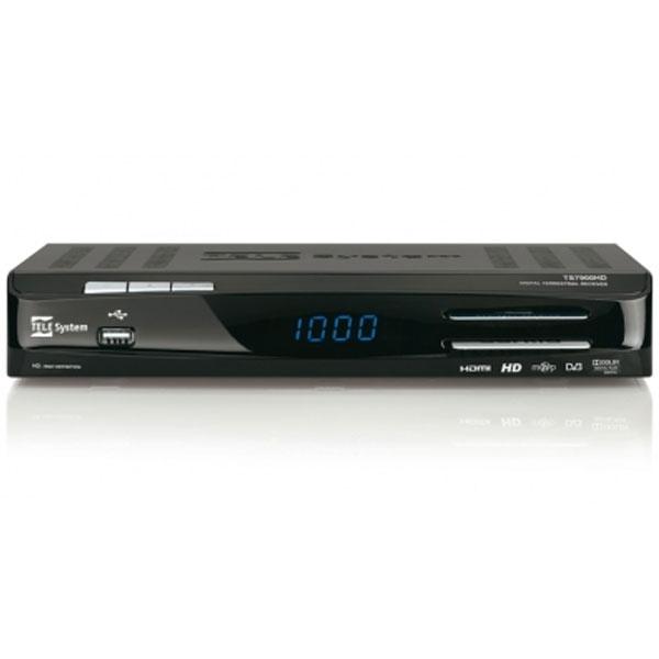 TeleSystem - [TS7900HD] Decoder digitale terrestre HD con Premium Play