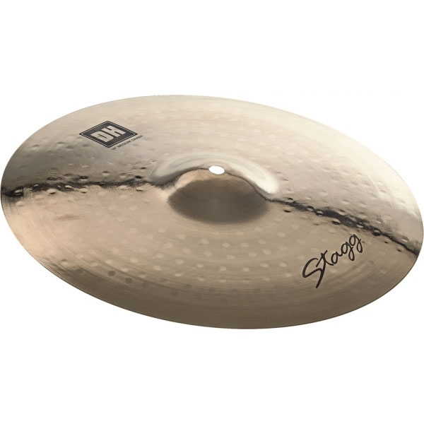 "Stagg - Dual Hammered - Brilliant Medium Crash 18"" DH-CM18B"