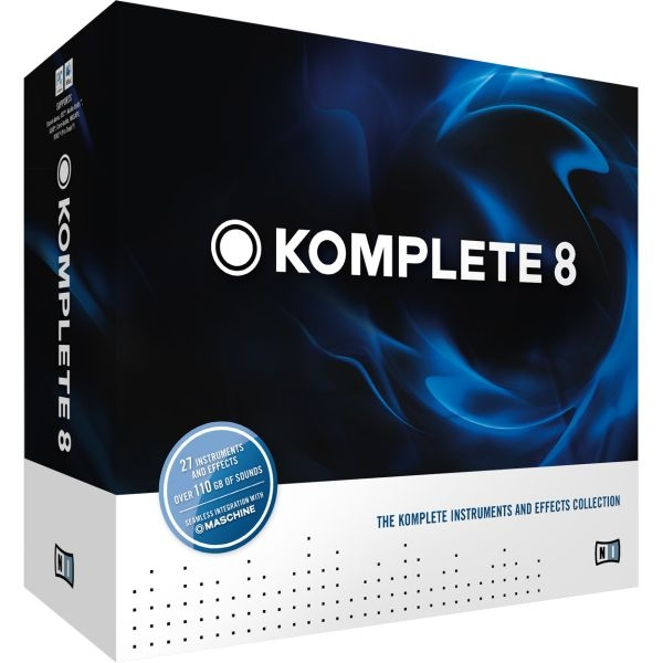 Native Instruments - [ KOMPLETE 8] Software musicale