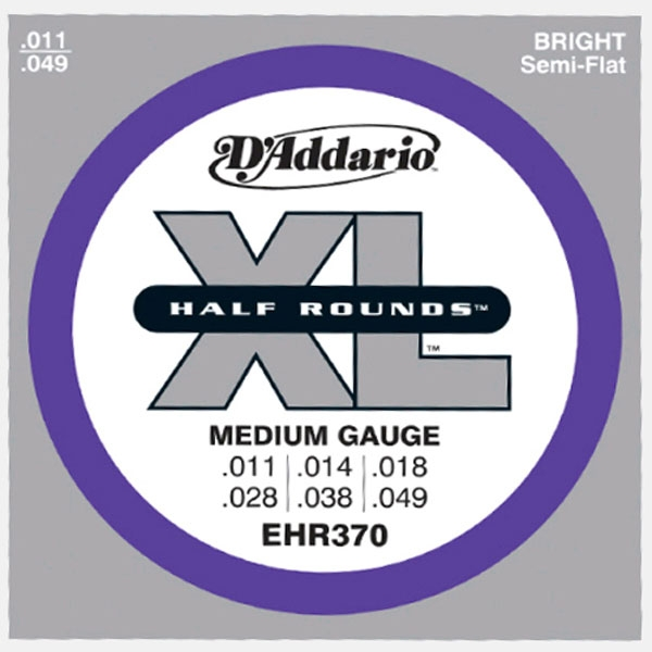 D'Addario - EHR370 Half Rounds Medium 11-49